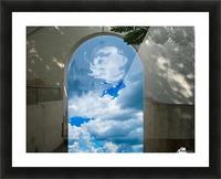 ArtDesign26.com   gate to sky Picture Frame print
