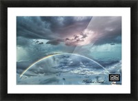 RAINBOW STORM 1 Picture Frame print