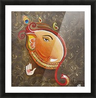 Ganesha the Great God Picture Frame print