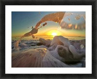 Peace Within the Chaos Picture Frame print