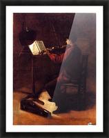 Violinist Impression et Cadre photo
