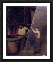 The blacksmiths Picture Frame print