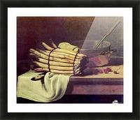 Asparagus Zeit Picture Frame print