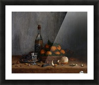 Still Life with Basket of Oranges Impression et Cadre photo