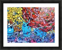 graffiti 569265 Picture Frame print