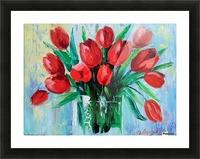 Тюльпаны Picture Frame print