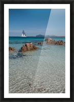 Mediterranean Picture Frame print