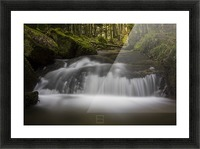 river Picture Frame print
