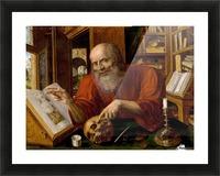 Saint Jerome Picture Frame print