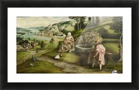 Rest on the Flight into Egypt Picture Frame print