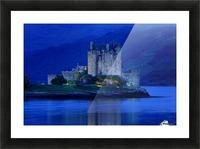 Eilean Donan Castle In Scotland Picture Frame print