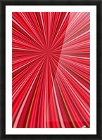 Pink Abstract Design Picture Frame print
