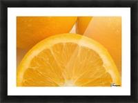 Oranges Picture Frame print