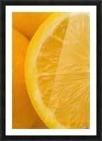 Oranges Picture Frame print