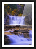 Johnston Canyon In Banff National Park, Alberta, Canada Picture Frame print