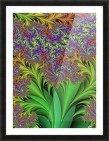 Abstract Design Picture Frame print