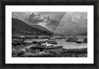Monochrome Madness - Fewa Lake Picture Frame print