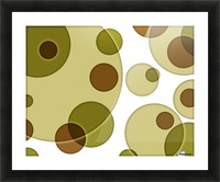 Orbicular Design Picture Frame print