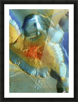 Mars Aerial View Picture Frame print
