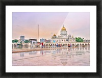 Gurudwara Bangla Sahib Picture Frame print