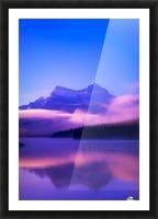 Maligne Lake, Jasper National Park, Alberta, Canada Picture Frame print