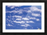 Clouds Picture Frame print