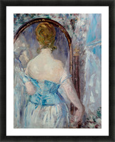 Before the Mirror by Manet Picture Frame print