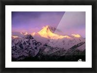 Annapurna South At Sunrise, Nepal Picture Frame print
