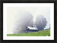 House Near Peacham, Vermont, Usa Picture Frame print