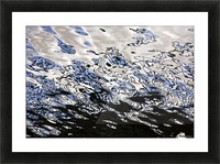 Water Reflections Picture Frame print
