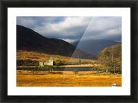 Kilchurn Castle, Loch Awe, Scotland Picture Frame print