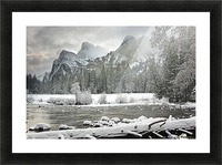 Yosemite National Park, California, Usa Picture Frame print