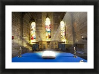Bible In Church Picture Frame print