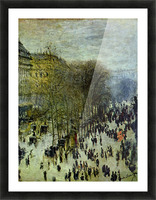 Boulevard of Capucines by Monet Picture Frame print