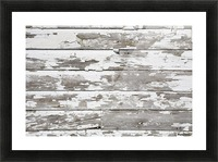 Paint Peeling Off Wood Picture Frame print