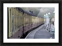 Train Station, Grosmont, North Yorkshire, England Picture Frame print