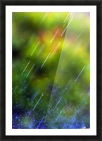 Rain Falling Picture Frame print