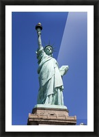 Statue Of Liberty, Lower Manhattan, New York City, New York, Usa Picture Frame print
