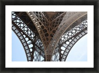 eiffel structure Picture Frame print