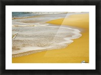 Tide On The Beach Picture Frame print