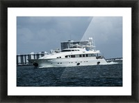 Yacht Picture Frame print