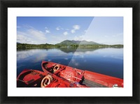 Killarney, County Kerry, Munster, Ireland; Two Boats In The Water Picture Frame print