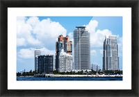 SOFI South of Fifth Miami Picture Frame print