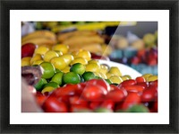 Farmers Market Picture Frame print