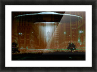 city invaded Picture Frame print