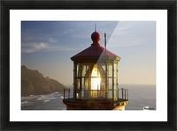 Heceta Head Lighthouse Along The Oregon Coast; Florence, Oregon, United States Of America Picture Frame print