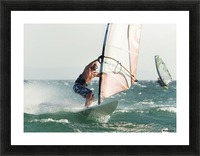 Windsurfing; Tarifa, Cadiz, Andalusia, Spain Picture Frame print