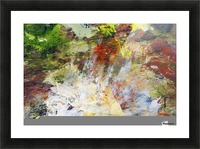 Abstract Oil Painting On Canvas Picture Frame print