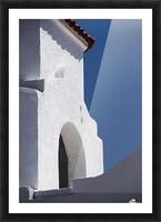 Church Bell Tower; Chacras De Coria, Mendoza, Argentina Picture Frame print