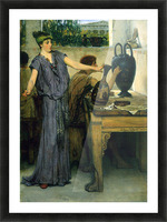 Pottery Painting by Alma-Tadema Picture Frame print